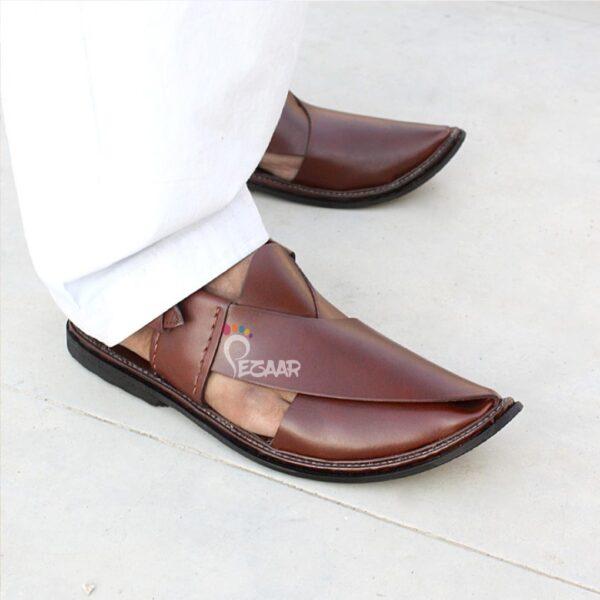 Pure Leather Peshawari Sandals PZ-1137